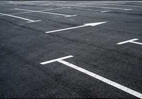 Paving Markings and Striping for Fall River Parking Lot